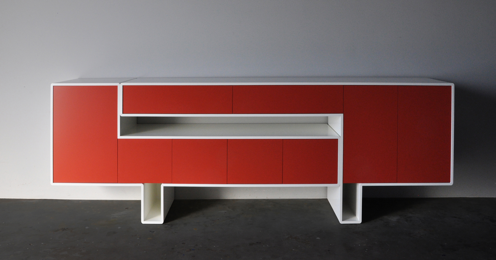 Thomas Durner - Works - two part sideboard